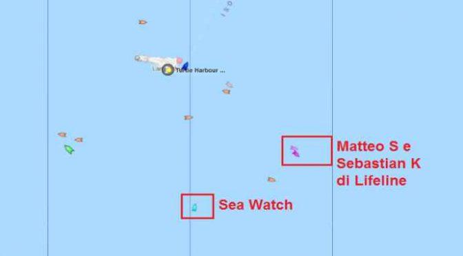 Lampedusa assediata dai trafficanti umanitari delle Ong