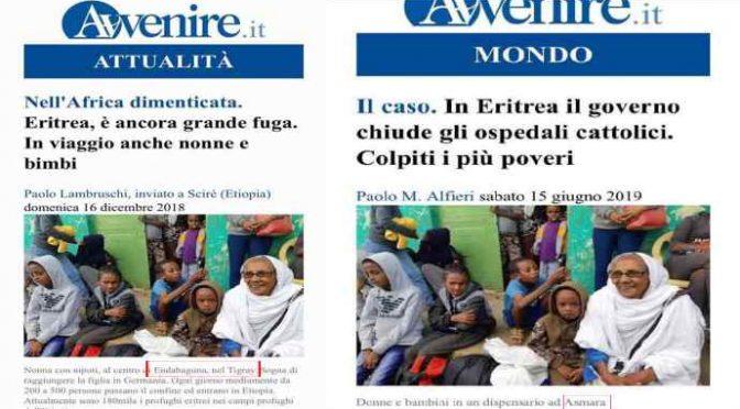 Foto false del giornale dei Vescovi Avvenire: manipolano i cattolici