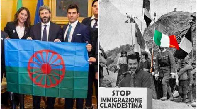 Fico sputa sul Tricolore: i Caduti italiani ti maledicono