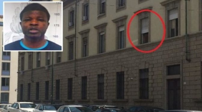 Magistrato lascia finestra aperta, stupratore africano fugge