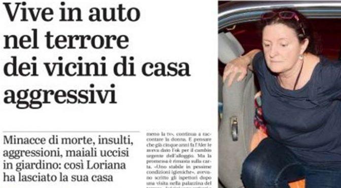 """""""Italiane poco di buono"""", vicini la cacciano di casa: dorme in auto da 2 mesi – VIDEO"""