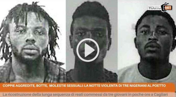 Profughi scatenati a Cagliari: coppiette violentate, rapinate e picchiate in poche ore