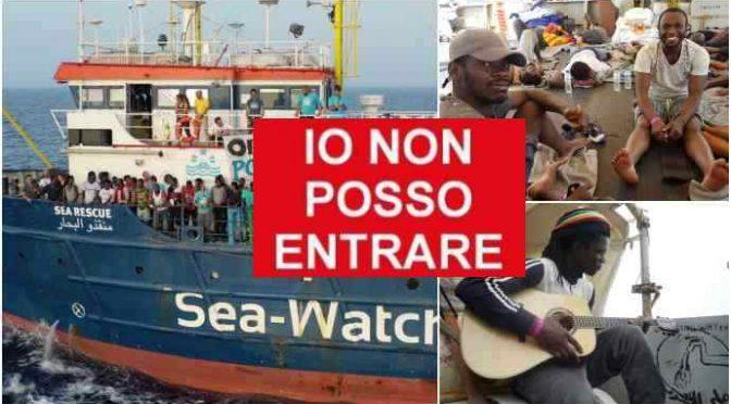 """Sea Watch, dal piddino esposto in procura """"Migranti privati della libertà"""""""