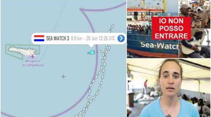 Arrestateli tutti, quelli di Sea Watch sono terroristi