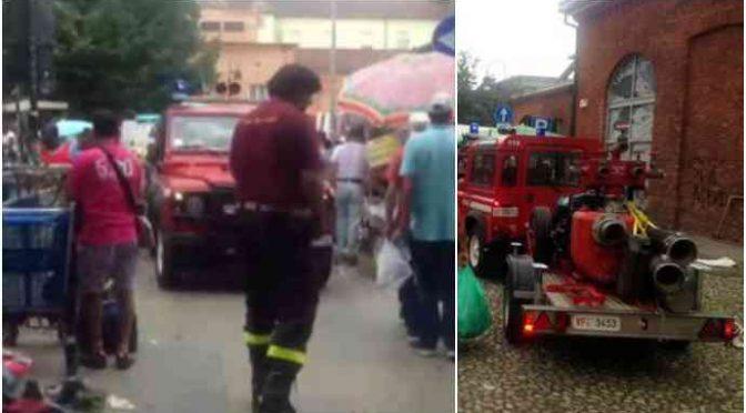 Torino allagata, immigrati ostacolano pompieri – VIDEO