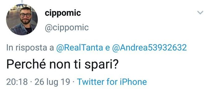 Prima minaccia Salvini, poi vuole andare in questura