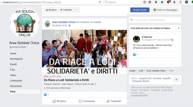 "Onlus 'ndrangheta accusava Salvini: ""Politiche razziste"""