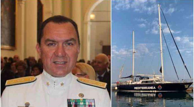 """Ammiraglio accusa Ong: """"Collaborano con trafficanti, era un attacco a Salvini"""""""