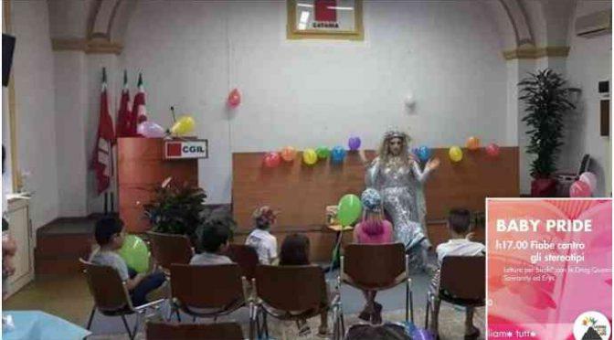 Cgil organizza il 'baby pride': bambini e travestiti