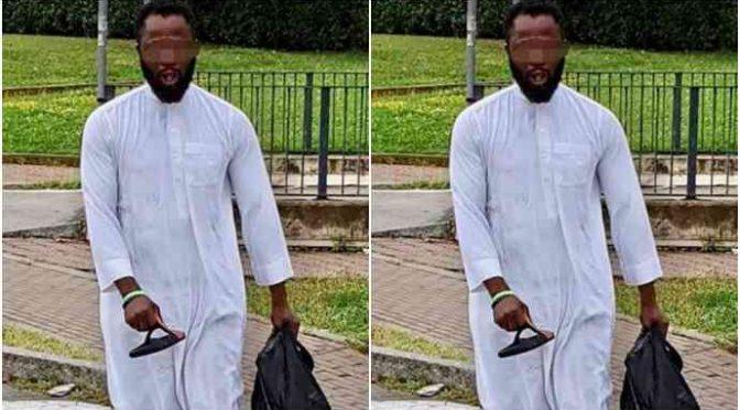 """Attacca passanti al grido """"Allah Akbar"""": bloccato da consigliere Lega mentre devasta auto col Corano"""
