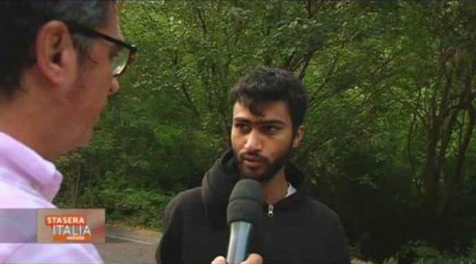 Giornalista 'passeur' scorta i clandestini islamici in Italia – VIDEO CHOC