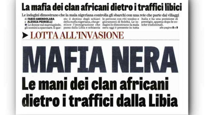 "Mafia nigeriana occupa l'Italia: ""Stanno armando i profughi"""