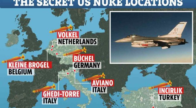 Erdogan tiene in ostaggio 50 bombe nucleari americane ad Incirlik