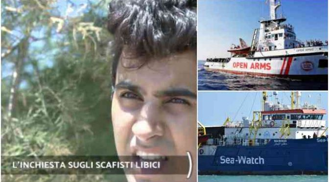 Scafisti ammettono contatti con Ong: incastrano Sea Watch e Open Arms – VIDEO