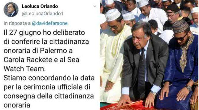 Palermo, Orlando nega la cittadinanza onoraria ai finanzieri speronati dalla Sea Watch
