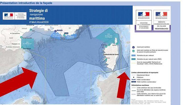 Macron vuole il mare italiano promesso dal PD