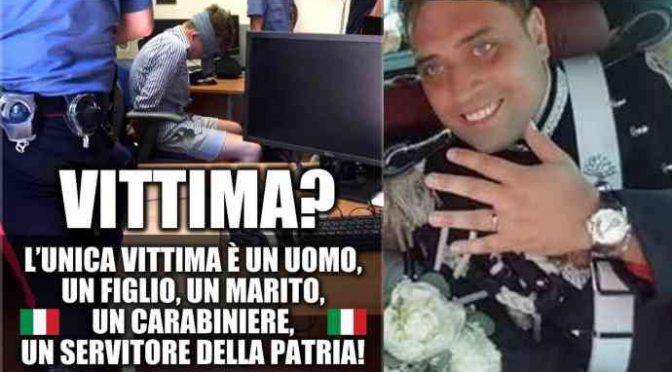 """Carabinieri: """"Polemiche sono dodicesima coltellata a Mario"""""""