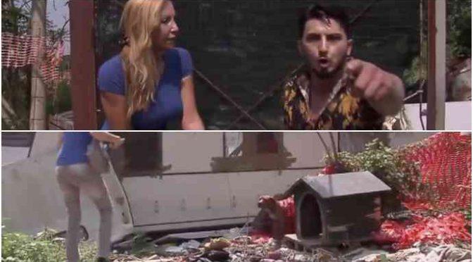 """Leghista aiuta cane maltrattato dai Rom: """"Ti ammazziamo col coltello…"""" – VIDEO"""