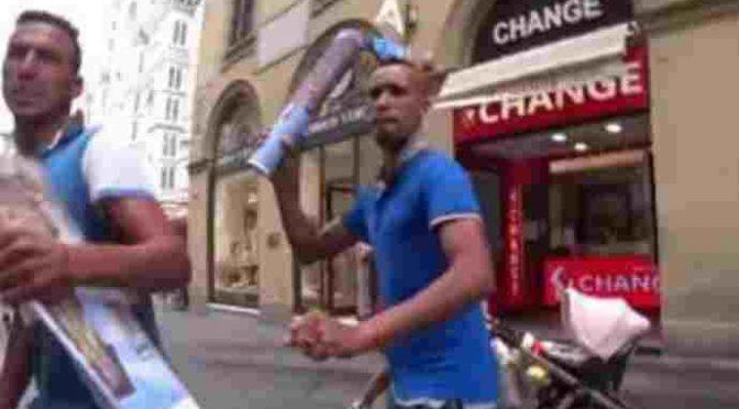 Brutale rapina a Firenze: 'loro' spaccano naso a calci a turista