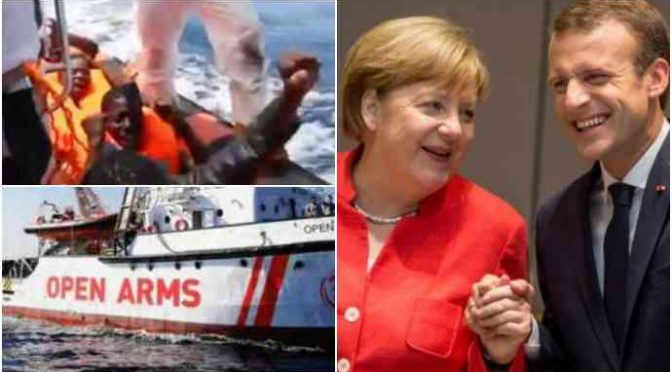 """Open Arms rifiuta anche Baleari: """"Dobbiamo sbarcare in Italia"""""""