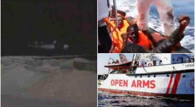 """Video incastra Open Arms, incontro con scafisti: """"Sì, abbiamo contatti"""" – VIDEO"""