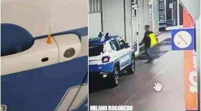 Immigrato tenta di bucare agenti con siringa infetta – VIDEO