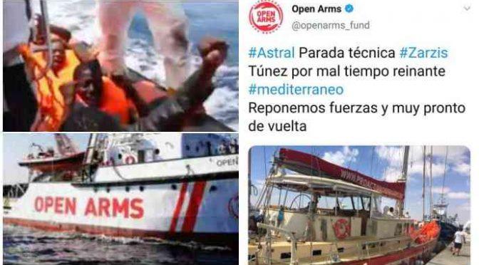 Open Arms, Tunisia non è porto sicuro per immigrati ma lo è per vacanze equipaggio…
