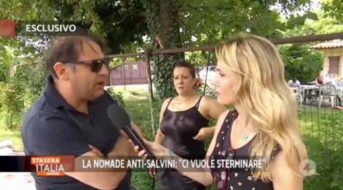 Ticino espelle il marito della rom che vuole uccidere Salvini