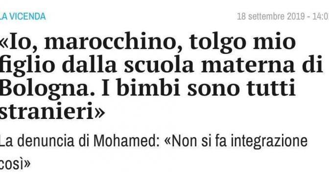 Bologna, toglie figlio da asilo perché son tutti immigrati