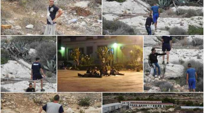 Lampedusa è un bivacco di tunisini: razziano le case e molestano le donne – VIDEO – FOTO
