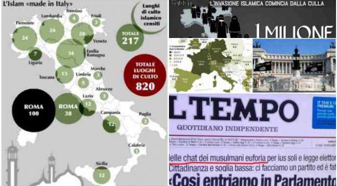 """Nasce il partito islamico 'italiano': """"priorità sconfiggere Lega e costruire moschee"""""""