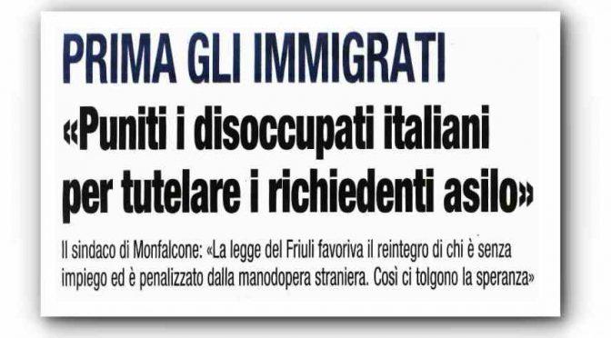 Così Pd e M5s faranno licenziare gli italiani per assumere immigrati