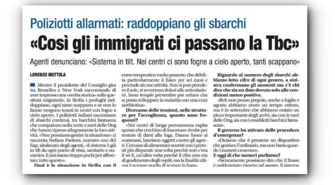 E' boom Tubercolosi a Roma: quasi il 70% sono immigrati