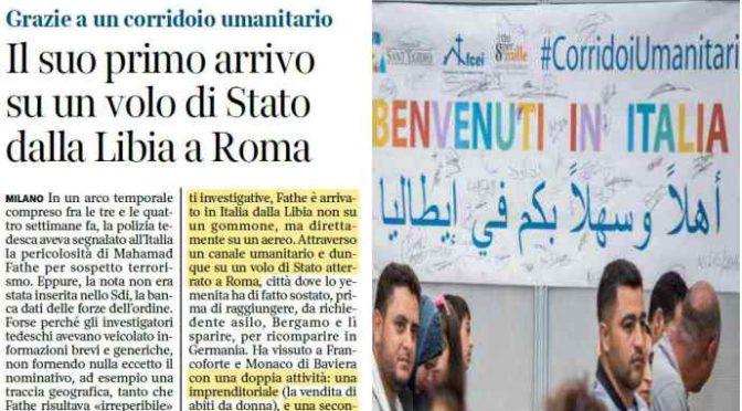 Ennesima balla di Open: Fathe Mahamad è arrivato in Italia grazie ai corridoi umanitari, punto