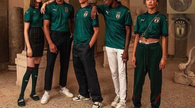 Maglie verdi e faccette nere: ecco l'Italia secondo la FIGC