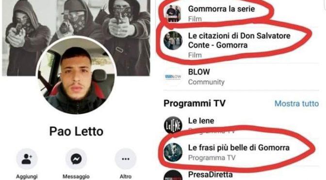 Il presunto assassino di Luca Sacchi allevato nel culto di Gomorra