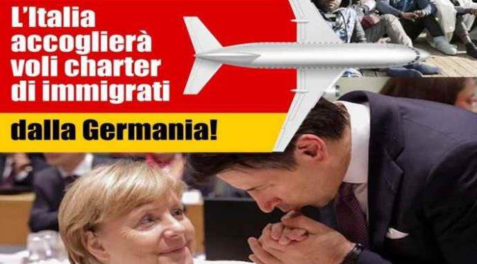 Sveltina Merkel a Roma: incontro col maggiordomo Conte