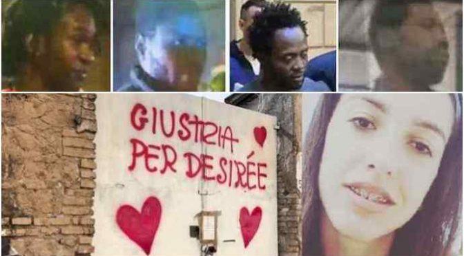 Desiree stuprata a morte: 4 profughi a processo per omicidio