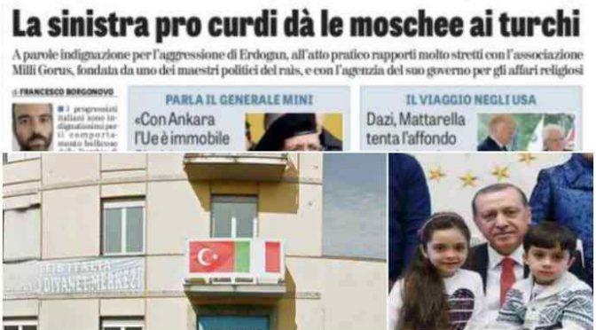Il PD finanzia le moschee di Erdogan a Milano