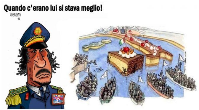 Il complotto per africanizzare l'Italia: dieci anni fa uccidevano Gheddafi, da allora 1 milione di clandestini