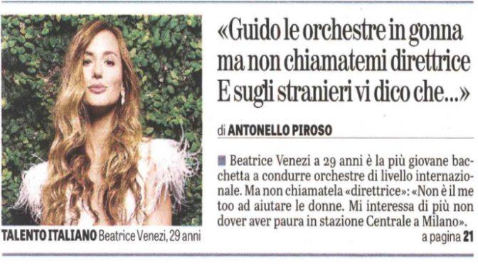 La direttore d'orchestra le suona ai buonisti: in Italia troppi immigrati
