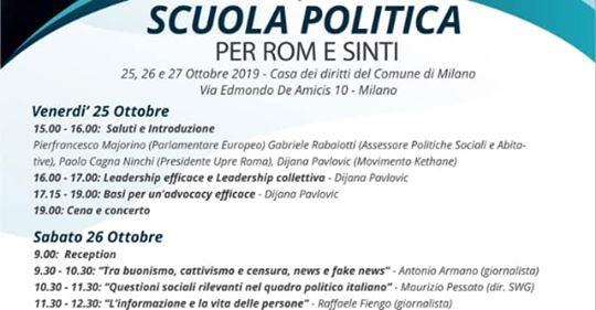 A Milano scuola di politica per gli zingari