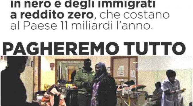 Pagheremo il superticket, gli immigrati NO