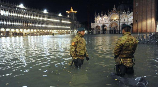 Venezia affonda, Conte riunisce il 'comitatone' – VIDEO