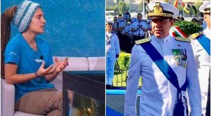 """Rackete, Ammiraglio contro Cassazione: """"Offesa alle Forze Armate"""""""