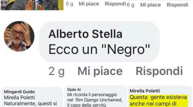 """La sinistra contro il 'negro' leghista: è """"lo schiavetto di Salvini"""""""
