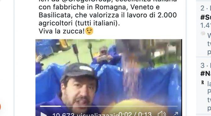 Gli invasati di sinistra boicottano Orogel perché ospita Salvini