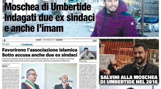 Indagati sindaci PD: tramavano con Imam per realizzare grande moschea