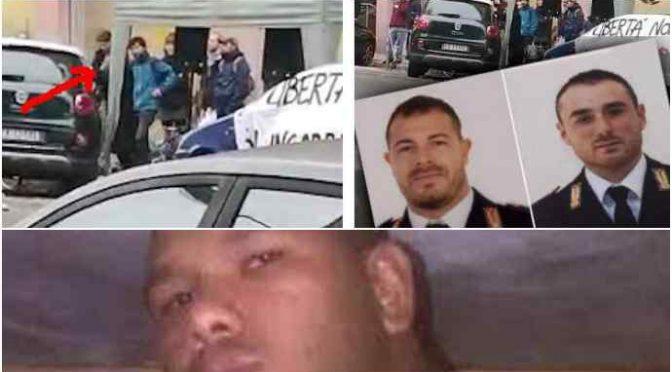 """""""Sbirri a testa in giù"""", individuati autori del comizio choc sugli agenti uccisi"""