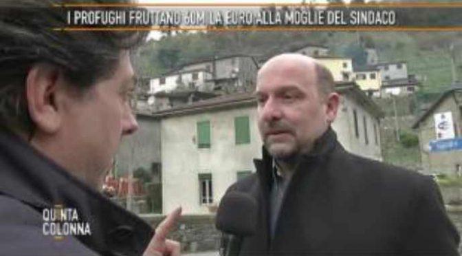 La moglie del sindaco incassava 60 mila euro con i profughi del marito – VIDEO